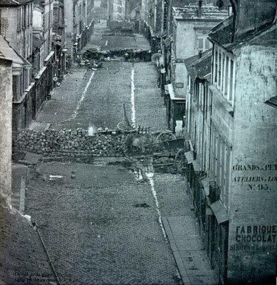 Paris Barricades June  1848